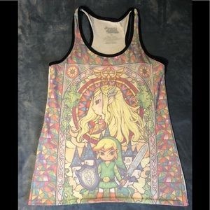 Legend of Zelda tank top